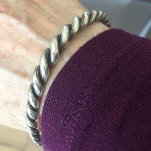Jewelry - Fabulous Vintage Silver Cuff